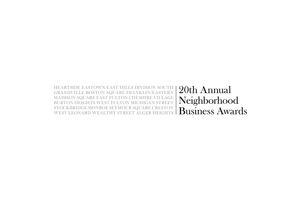 20th Annual Business Awards logo